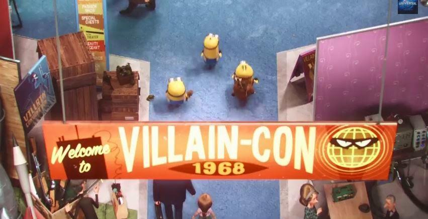 conferencia de villanos minions