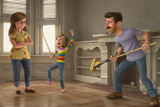 inside out viceversa intensamente del reves pixar animation studios disney critica still 2015 riley padres parents